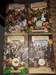 Kit 4 livros Guia Politicamente Incorreto