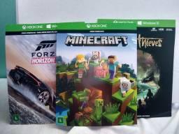 Combo 03 jogos Xbox One - 25 dígitos