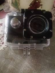 Câmera filmadora Sport ( tomate)