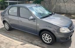Renault Logan 1.0 Expression Up HiFlex Completo / Financio Com Entrada + 48x R$ 470,00