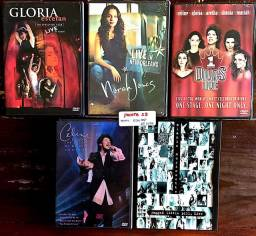 05 DVDs /Shows - Tema: Elas Pop