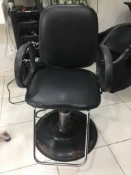 Cadeira salão reclinável