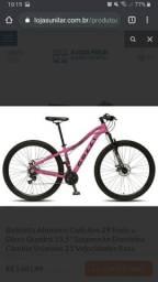 Vendo bicicleta Colli. Aro 29 quadro 15.5. Nova