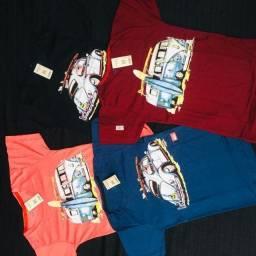 Kit com 3 camisetas por apenas 69,90 !Oferta!