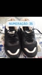 6 sapatos infantis, por 80 reais