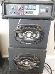 Amplificador + par de 6x9
