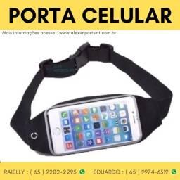 Porchete Porta Celular Pochete Fitness Academia Correr Brasadeira Exercicio