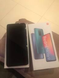 Redmi Note 9 Novo nunca Usado 64gb