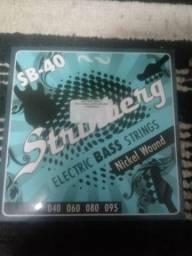 Encordoamento Strinberg Baixo 4 cordas .040