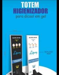 TOTEM ALCOOL EM GEL (fazemos entregas)
