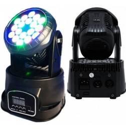 Moving led Mini 18 leds RGB