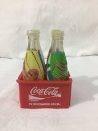 Mini Engradado Coca Cola Olimpíada Atenas 2004
