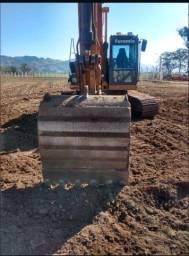 Escavadeira Case cx160d
