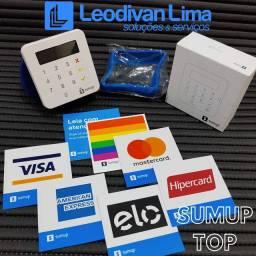 Máquina de cartão - SUMUP TOP= menor taxa do mercado