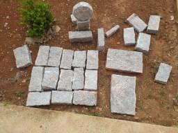 Pedras de granito de todos os tipos