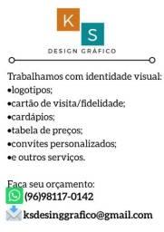 Trabalhamos com identidade visual: logotipos, cartão de visita, convites personalizados