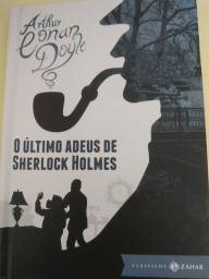 4 livros Sherlock holmes capa dura-editora zahar( novos)