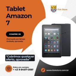 Promoção - Tablet Fire 7 Amazon Novos lacrados com 1 ano de garantia + brindes
