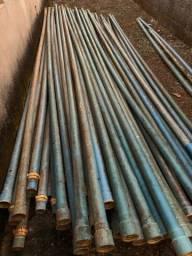 Vendo tubos para irrigação de 3 polegadas