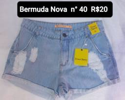 Bermuda Nova R$20