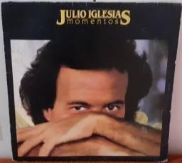 2 LPs de Júlio Iglésias