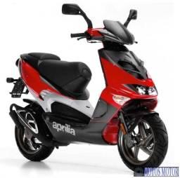 Moto Aprília Scooter 50cc (2mil km)