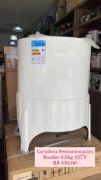 Super saldão! Lavadora Mueller Semiautomatica  4,5Kg por R$ 550,00