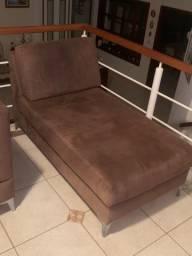 Conjunto de sofá 3 + 2 lugares + chase