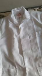 Uniforme branco tamanho G