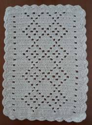 Tapete em crochet para banheiro!