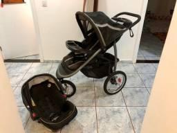 Carrinho + bebê conforto + base isofix Graco