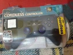 Controle Logitech  zero na caixa nunca usado