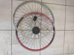 Dois aro de bicicleta 26