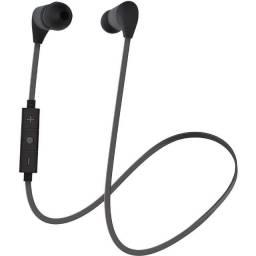 Fone de ouvido dois lados Bluetooth Preto