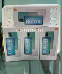 XIAOMI REDMI NOTE 10 128GB 6GB ram lacrados novos disponíveis