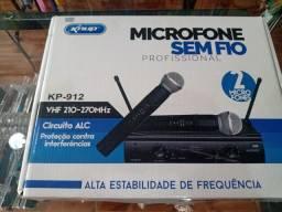 Vendo microfone sem fio ..