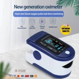 Óxímetro de Dedo Digital Monitor de Freqüência Cardíaca Cuidados Saúde