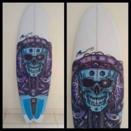 Prancha de surf FSLINE, modelo fish.