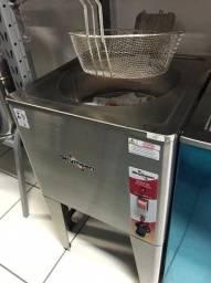 Fritadeira Elétrica de Piso em Inox - Água e Óleo - Skymsen - Matheus