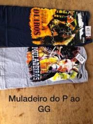 Camisetas e bermudas masculina