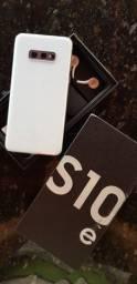 "Samsung Galaxy S10e Branco, 5,8"", 128GB e câmera Dupla de 12MP + 16MP e 10 MP frontal"