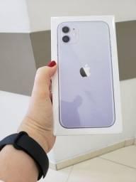 Iphone 11 64gb ROXO C/ ACESSÓRIOS