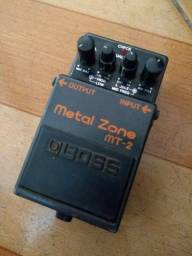 Pedal metal zone mt2 Boss.