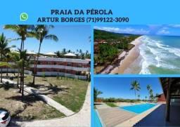 Praia da Pérola -2 Quartos e Chalés 3 Quartos, Vista Mar- Ilhéus- Ba(60x Sem Juros)