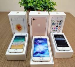 Combo de iPhone 7, 5 SE, 5 S - Impecáveis