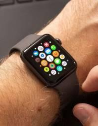 Imperdível Apple Watch Serie 3 42mm Seminovo - somos loja física