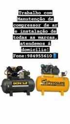 Manuteçao De compressor