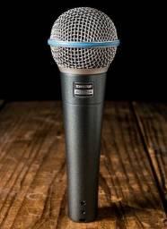 Microfone com Fio Shure Beta58 Original