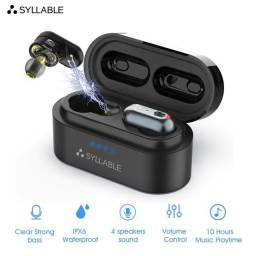Syllable S101 Fone Bluetooth 5.0 Pronta Entrega ( Original, Novo, Lacrado )