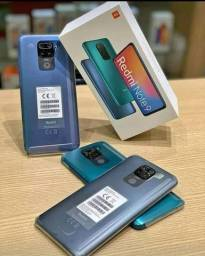 Smartphone Xiaomi Redmi Note 9 128GB/4GB Ram Verde/Cinza Índia